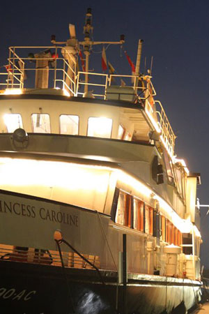 Board The Princess Caroline For The Ultimate Christmas Boat Party In